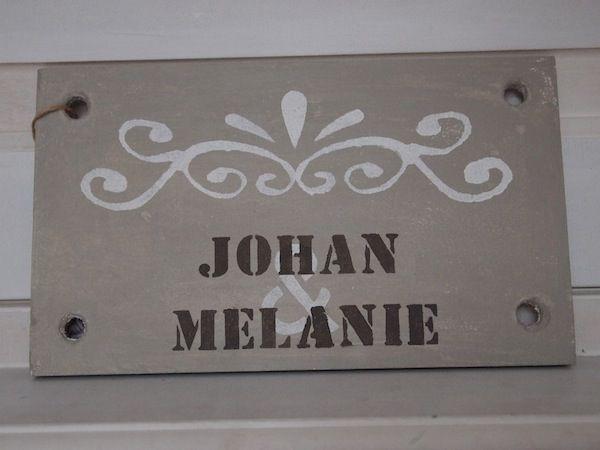 Naambord Voordeur Landelijk : Naambord #naamplaat bij de voordeur by wis en waarachtig naambord