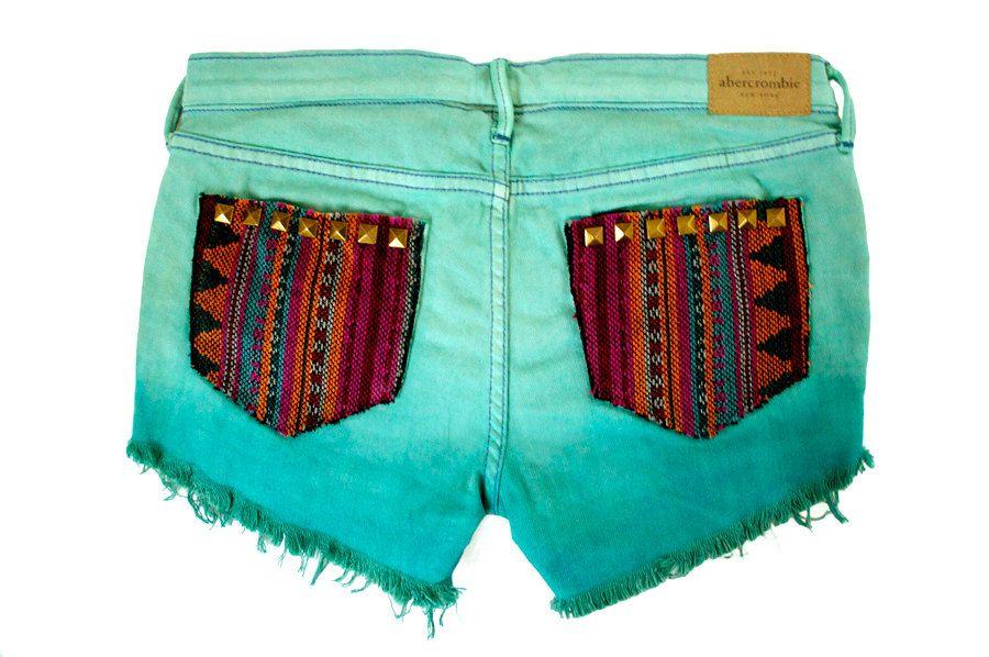 Southwestern Ethnic Print Shorts