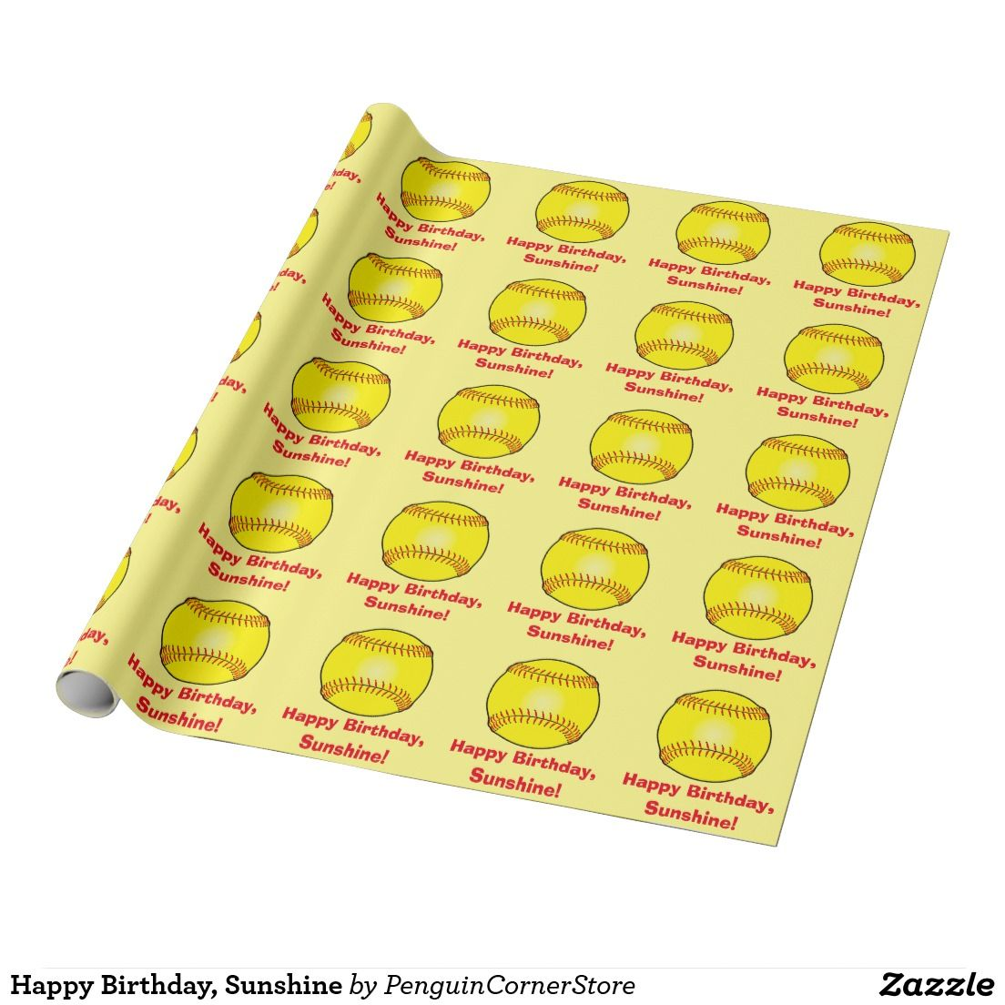 Happy Birthday, Sunshine Wrapping Paper