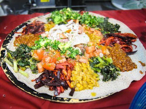 6 vegan Ethiopian recipes - since I just got a bunch of ...
