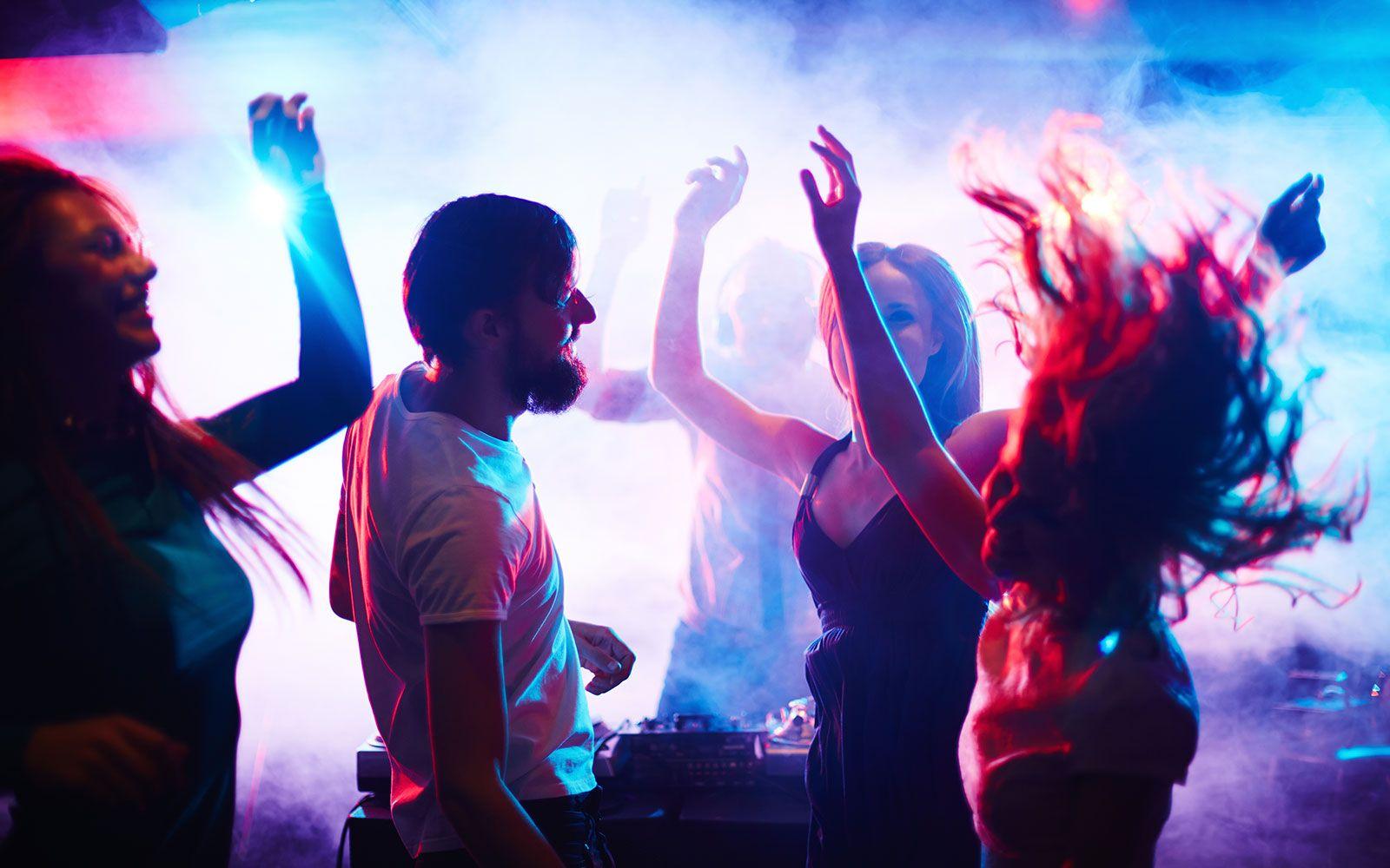 Pin By Margo Fray On Fiesta People Dancing Night Club Night Life