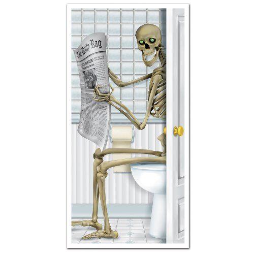 Halloween Bathroom Decor WebNuggetz #halloween #decor A - scary door decorations for halloween