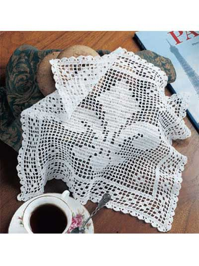 a bread cloth? what were those used for? to cover bread? | Doilies ...