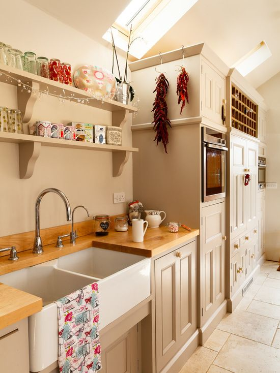 Best Farrow Ball Elephant's Breath Country Kitchen Layouts 400 x 300