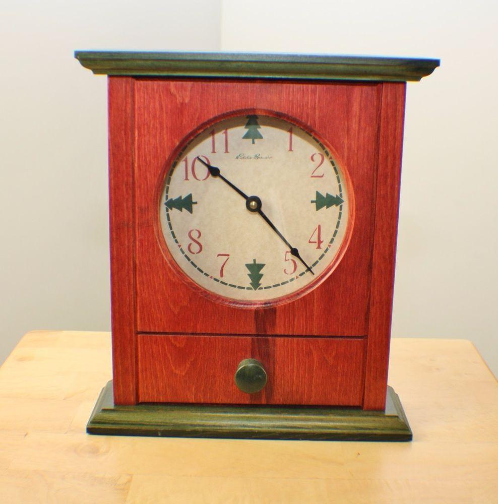 Eddie bauer mantel clock