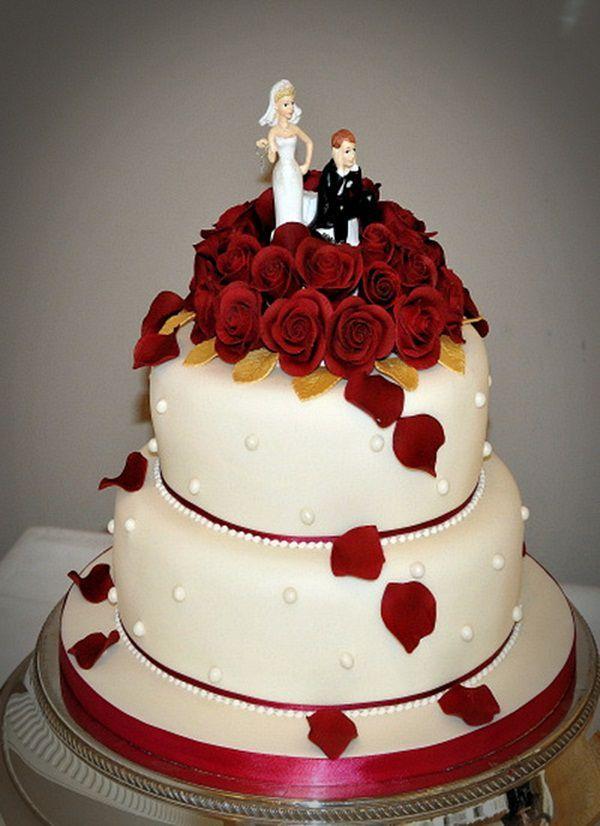 Roses Wedding Cake Red Velvet Pictures Royal Red Velvet Wedding Cake Modern Wedding Cakes Red Velvet Wedding Cake Cool Wedding Cakes Wedding Cake Red