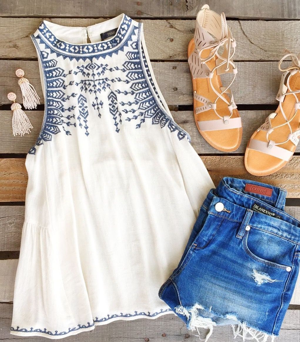 Get fabulous looks like this and many more, hand picked for you by your own personal stylist and delivered right to your door with Stitch Fix  Order your first Fix today! is part of Summer outfits -