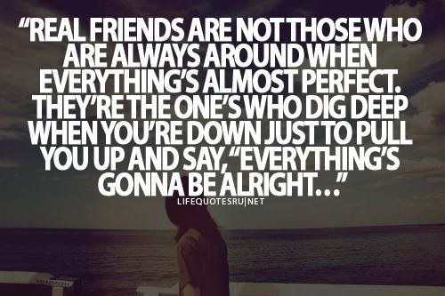Finding Out Who Your True Friends Are Quotes Tumblr Image Quotes
