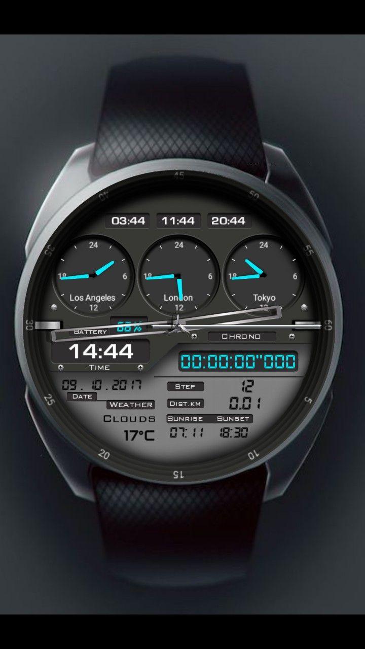 fe306ae5d8c6f Eren Ganioğlu adlı kullanıcının Android wear watch faces panosundaki Pin |  Watches for men, Watches ve Luxury watches