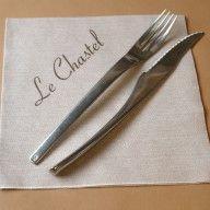 Serviettes 45 x 45 cm (ouvert) Le Chastel Serviette