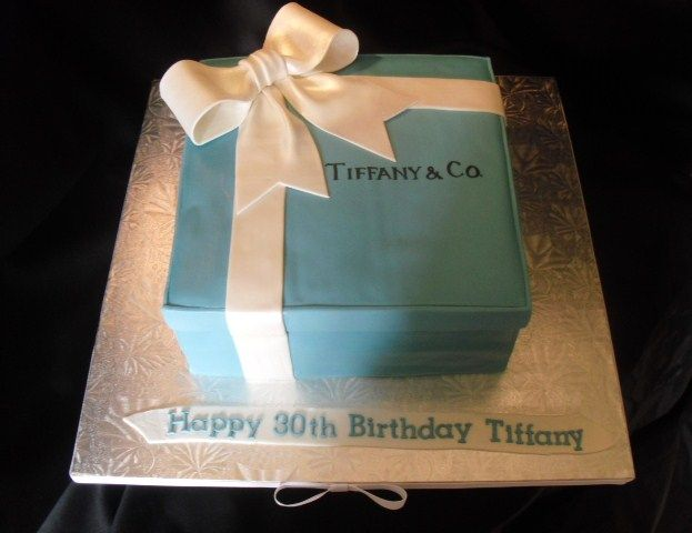 Tiffany And Co Cakes