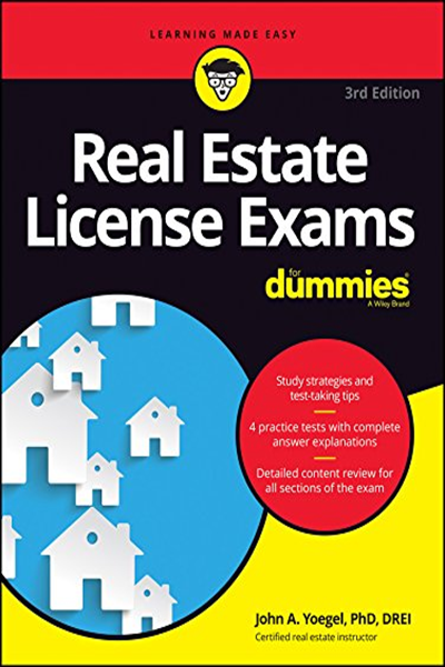 Real Estate License Exams For Dummies Pdf John A Yoegel For