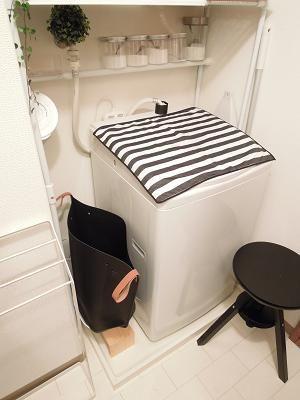 洗濯機上の収納 Little Home 収納 キッチン インテリア