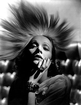 Marlene Dietrich. When I think of how the Kardashians are center stage in entertainment media....and then there are actual stars (forever - alive or dead) like Marlene? It makes me fear for humanity.
