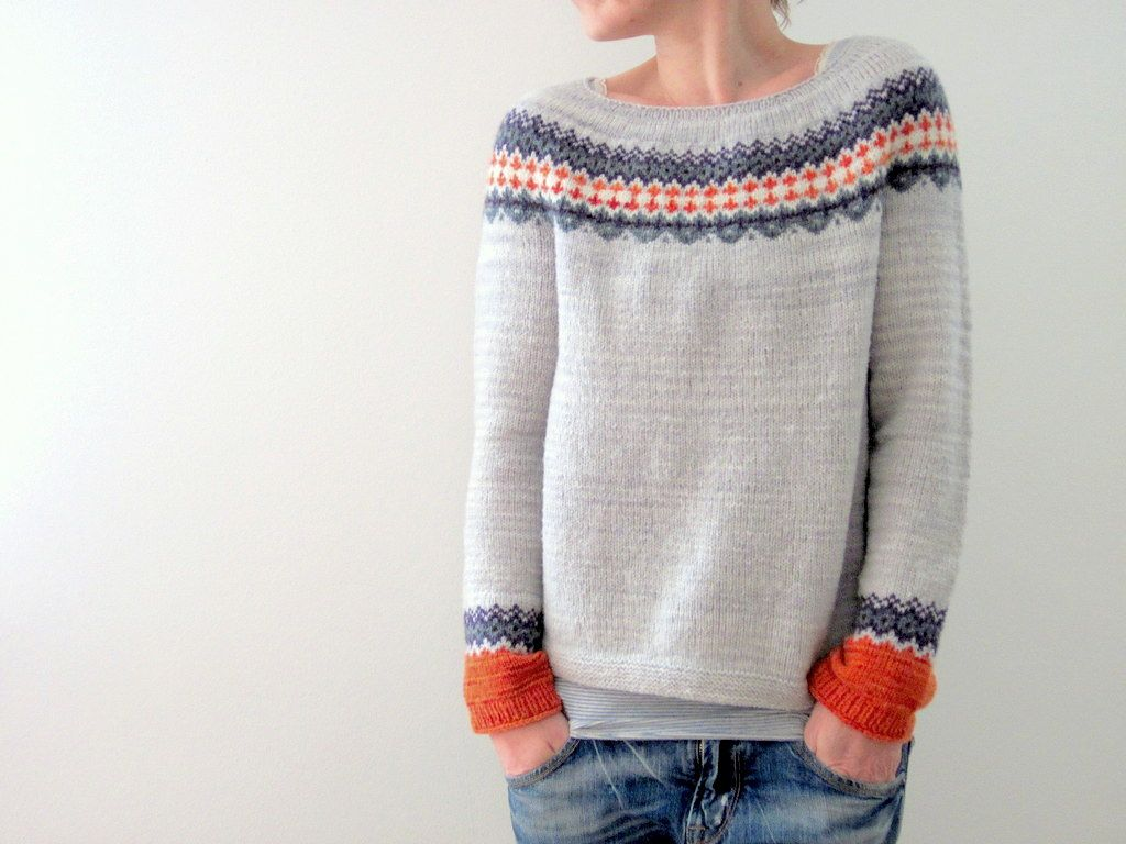 Although I don´t have much time to knit and big projects last me ...