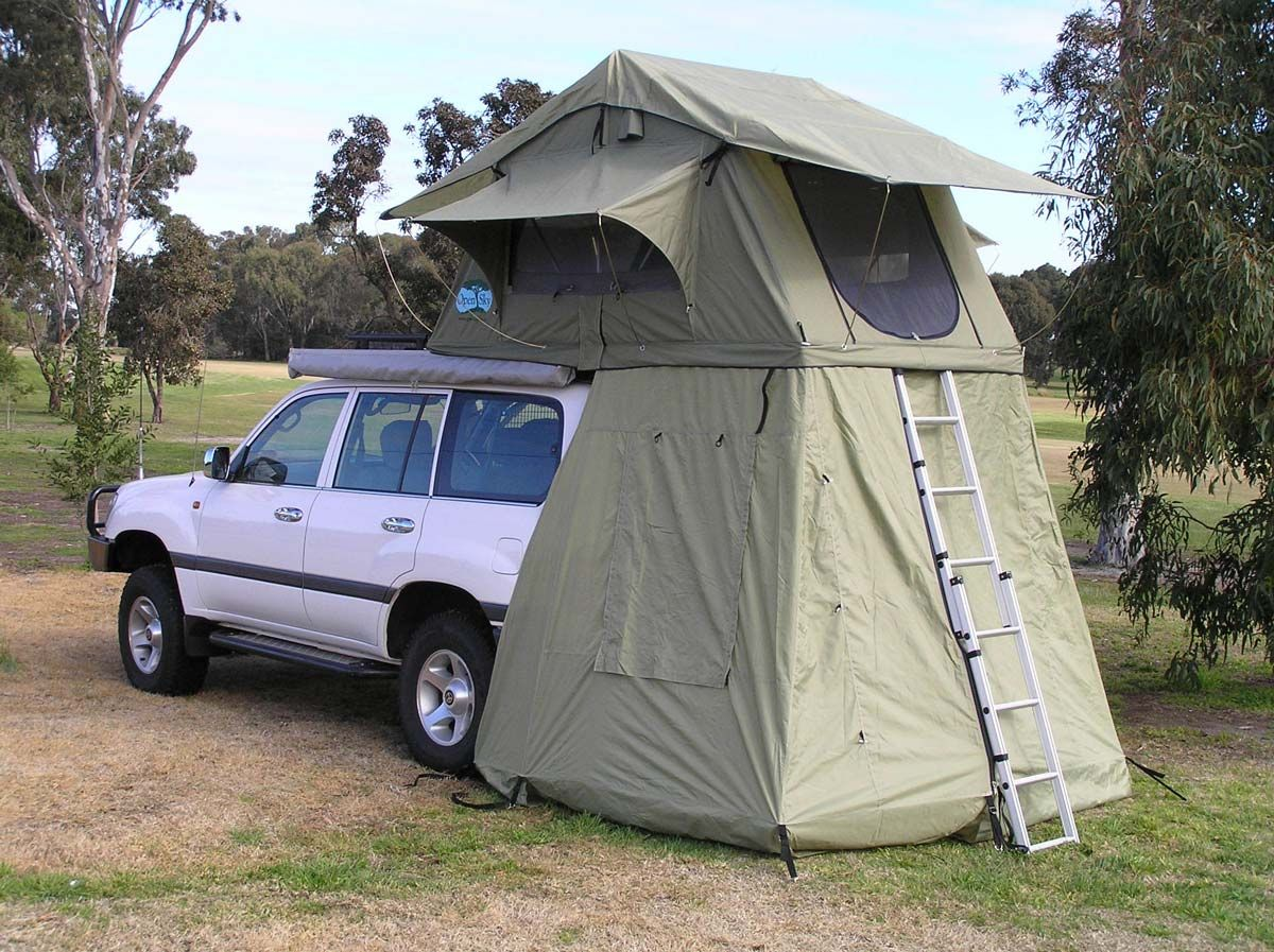 Image Detail For Open Sky Roof Top Tents Bushranger