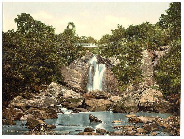 hideaway  Inversnaid Falls, Loch Lomond,Scotland