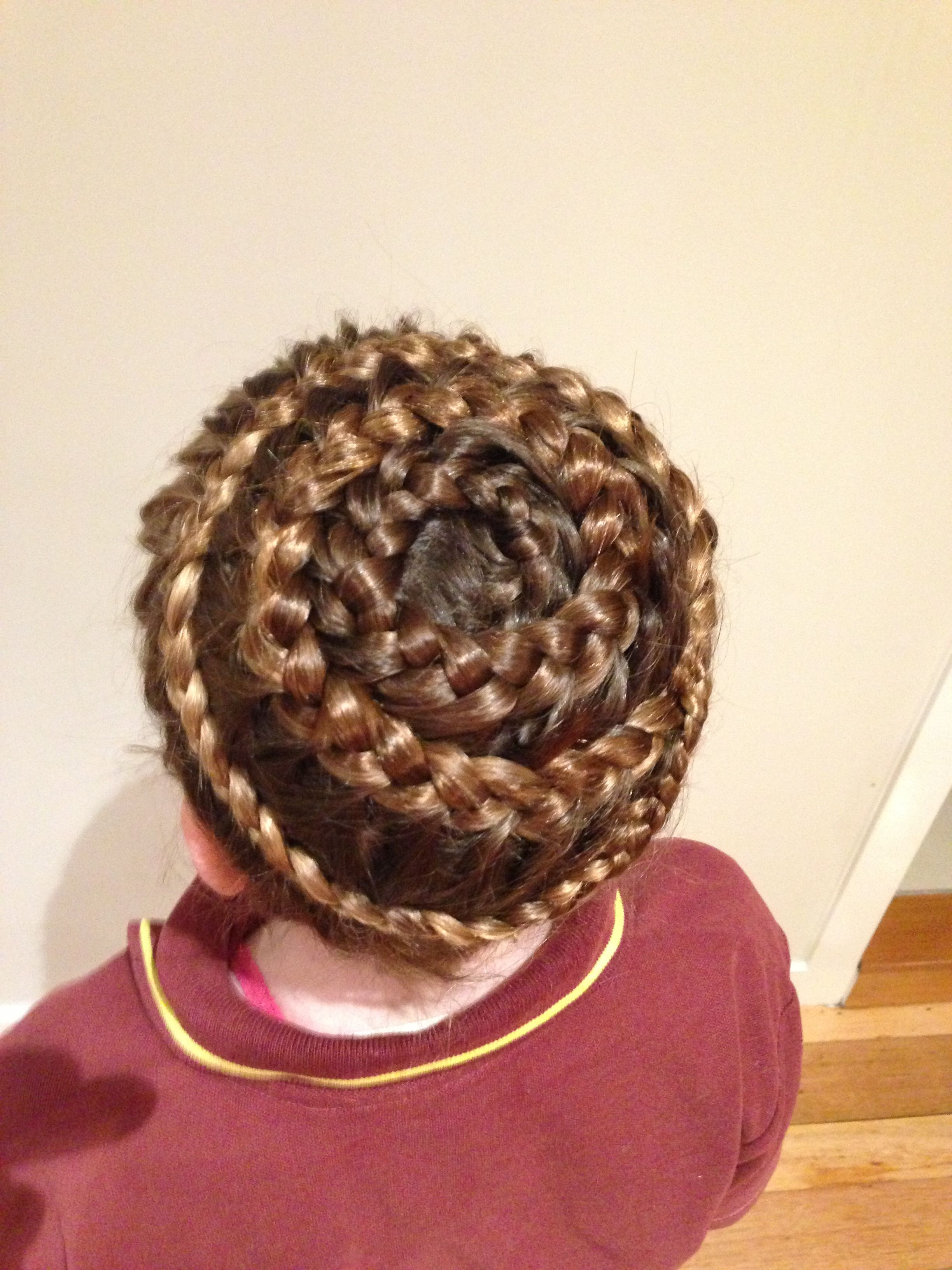 Circle braid kids hair ideas pinterest kid hairstyles circle braid ccuart Gallery