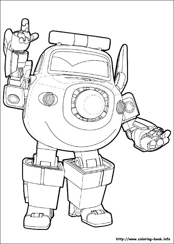 Super Wings Coloring Picture Coloring For Kid Coloring Pages