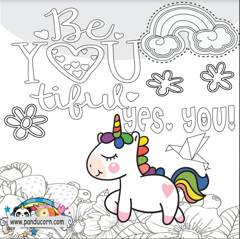 Happy Unicorn Day in 2020 | Unicorn coloring pages ...