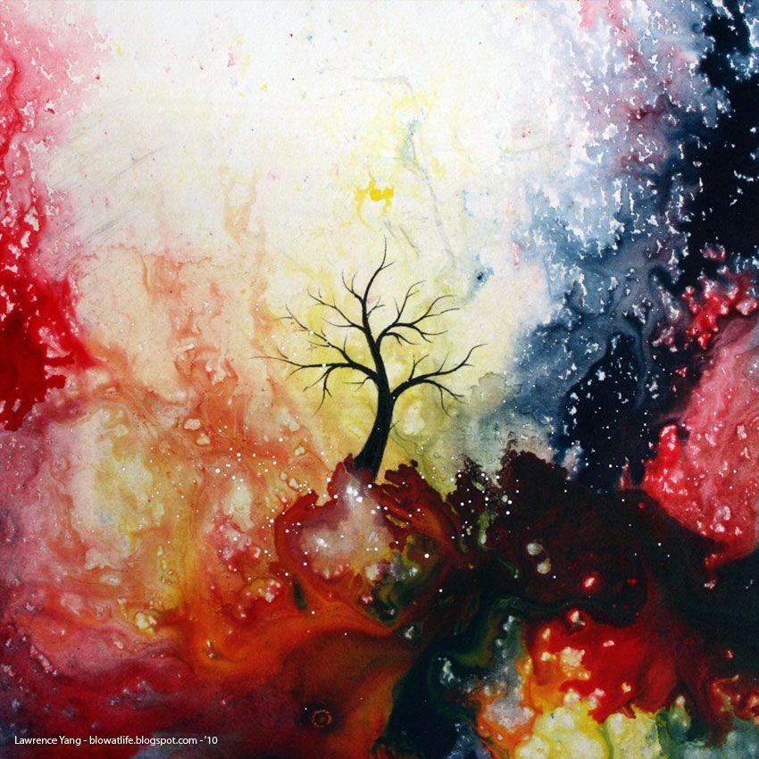 Fire tree. Lawrence Yang