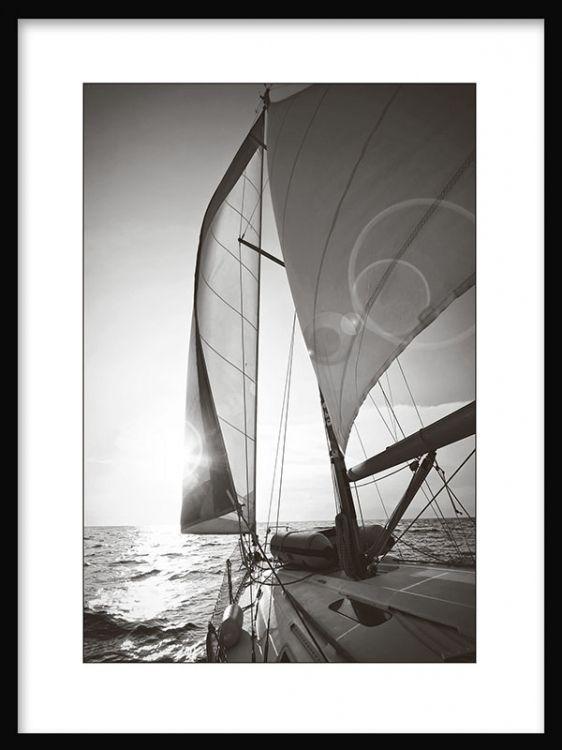 affischer svart vit