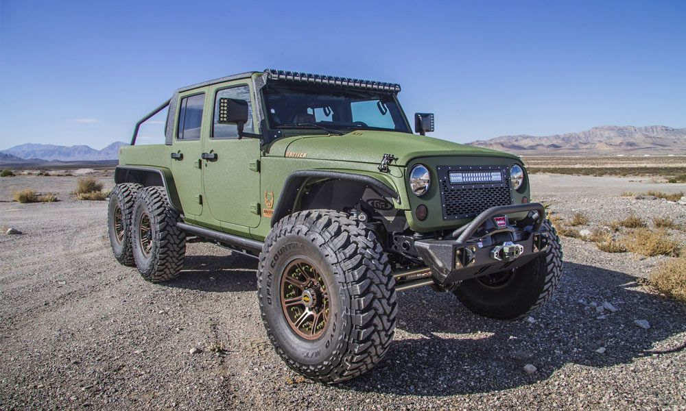 Bruiser Conversions 6 6 Jeep Wrangler Pickup Custom Trucks
