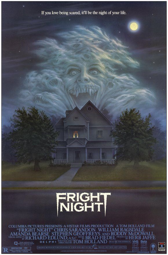 Fright Night 1985 Really Liked This Yes Now It Seems Campy