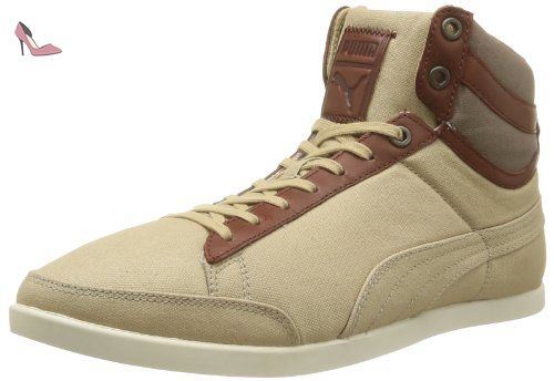 De Homme Catskill Ville Mid Beige Puma Canvas whey Chaussures ZHnqf