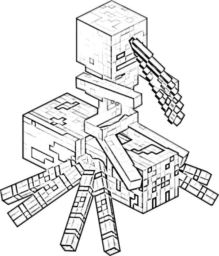 Spider Minecraft Coloring Pages Minecraft Coloring Pages Coloring Pages Coloring Pages Inspirational