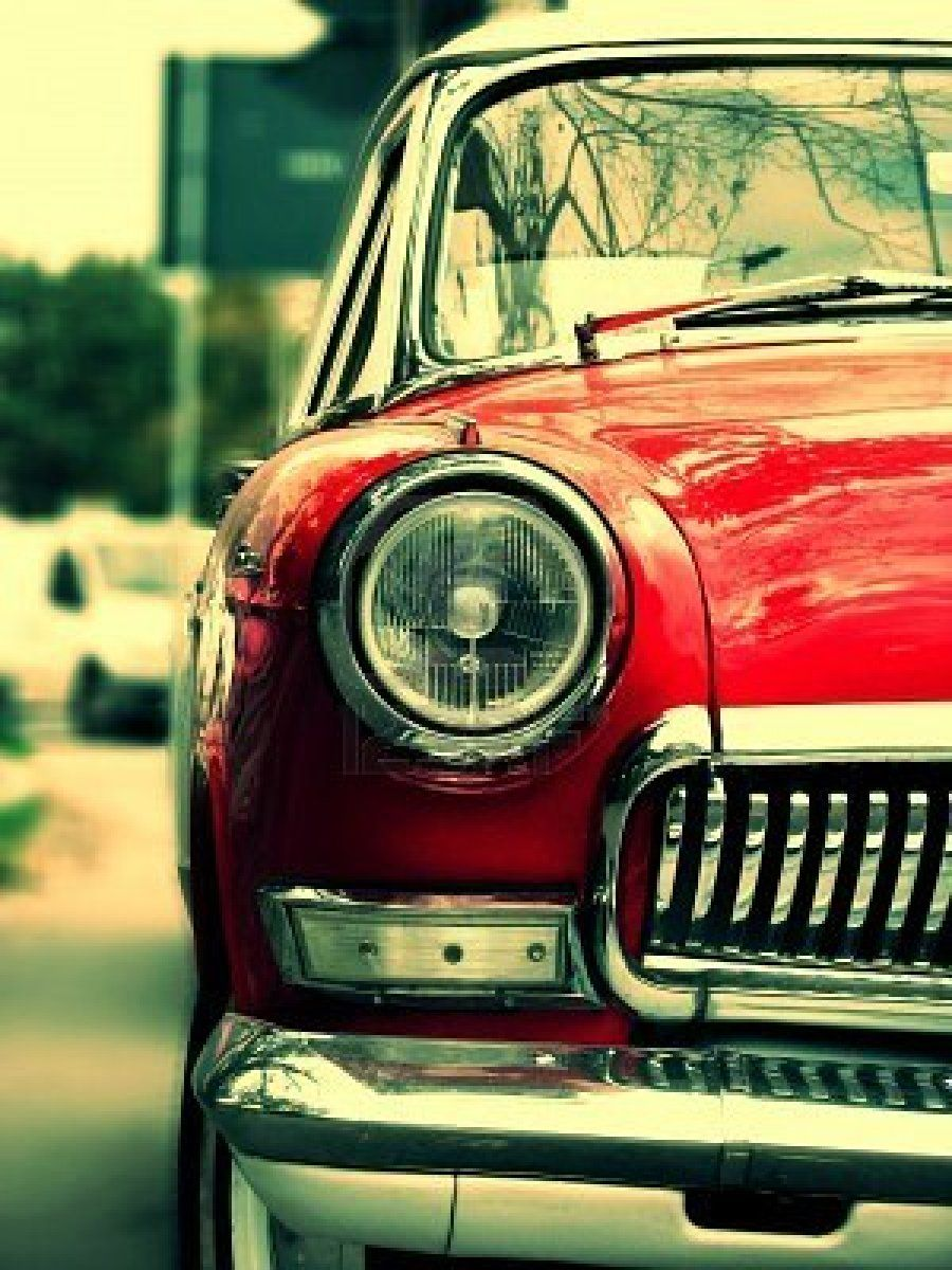 Great Pick Retro Cars Red Car Hot Pink Cars Retro vintage red car headlight hd