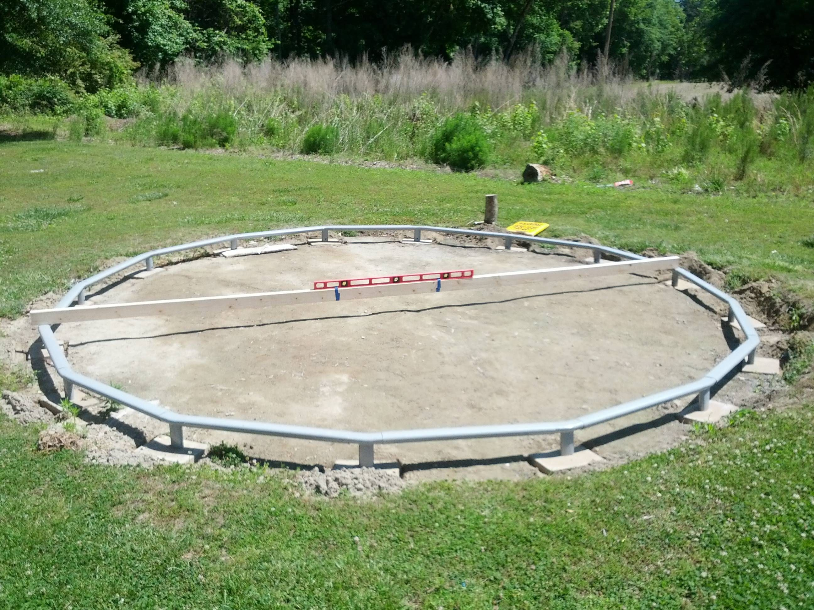 I Need Advice On Leveling My Ground Trouble Free Pool Installing Above Ground Pool Pool Installation Coleman Pool