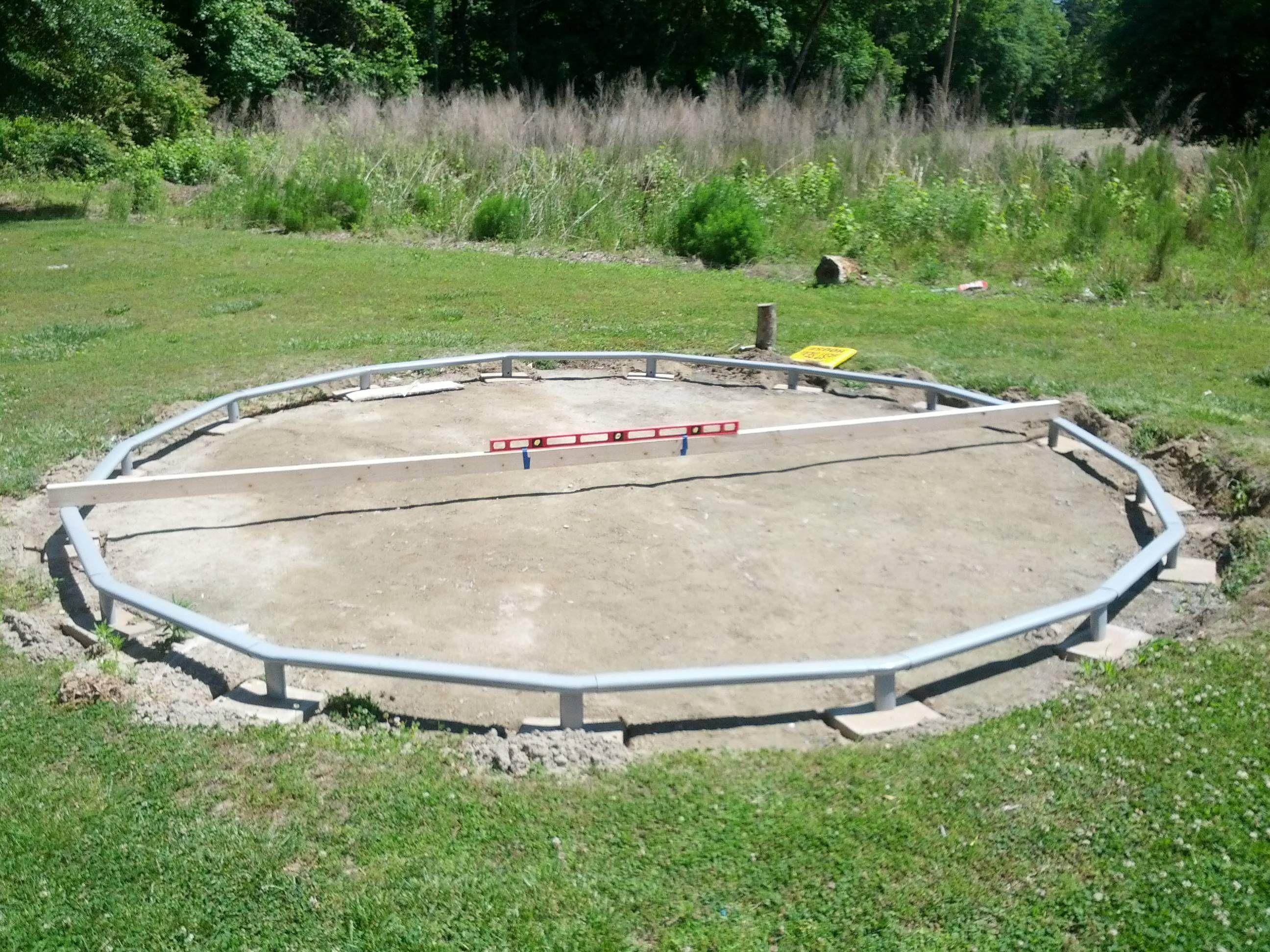 I need advice on leveling my ground trouble free pool