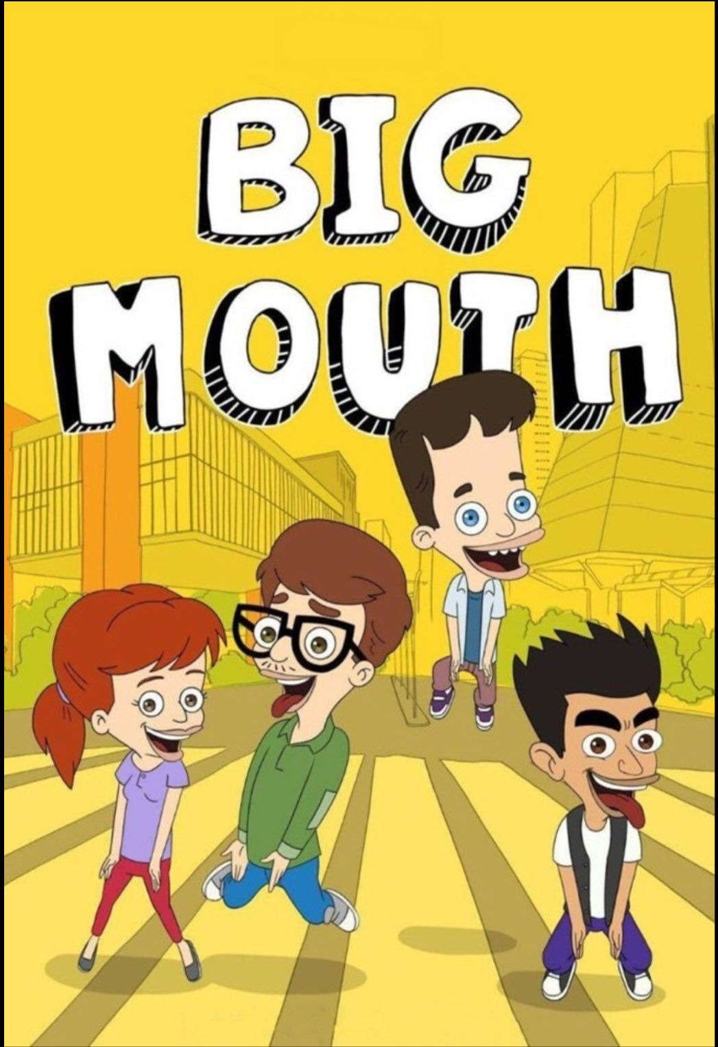 Pin By Santiago Kun On Big Mouth Big Mouth Mouth Coloring Book