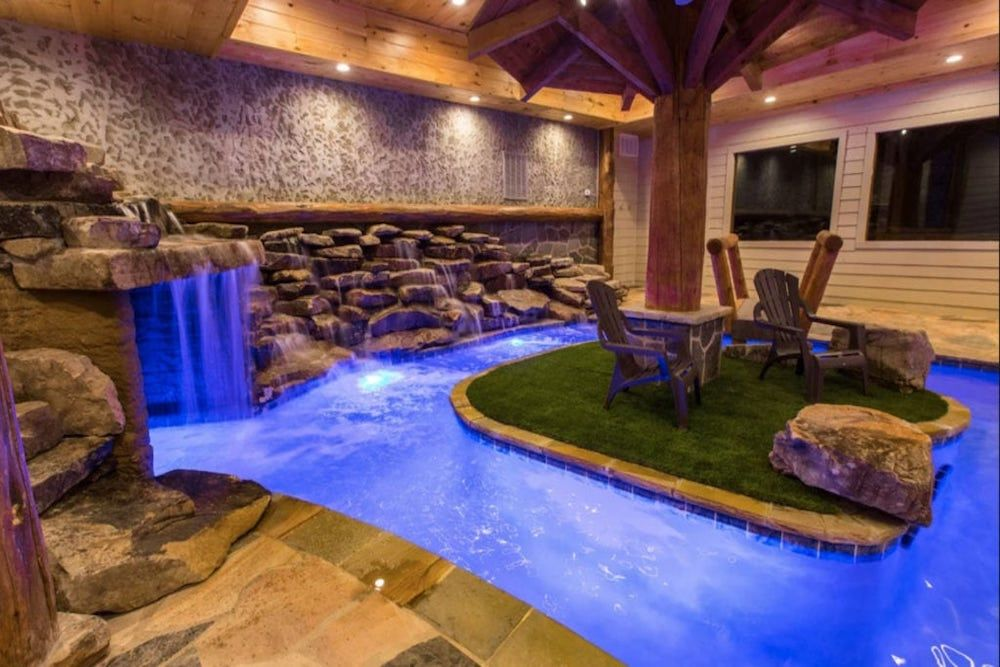 Top 5 Reasons To Stay In Pigeon Forge Cabins With Indoor Pools Cabins In The Smokies Indoor Pool Tennessee Cabins