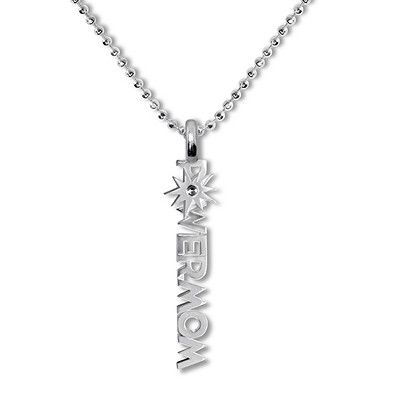 Alex Woo Womens Sterling Silver Little Incredibles Power Mom Inspired by Disney Pixars Incredibles 2 Pendant Necklace 16