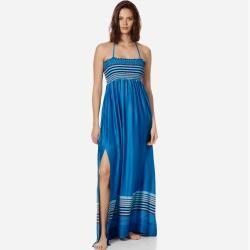 Photo of Damen Ready to Wear – Rayures Bleues Kleid aus Viskose und Seide für Damen – Kleid – Ficus – Blau –