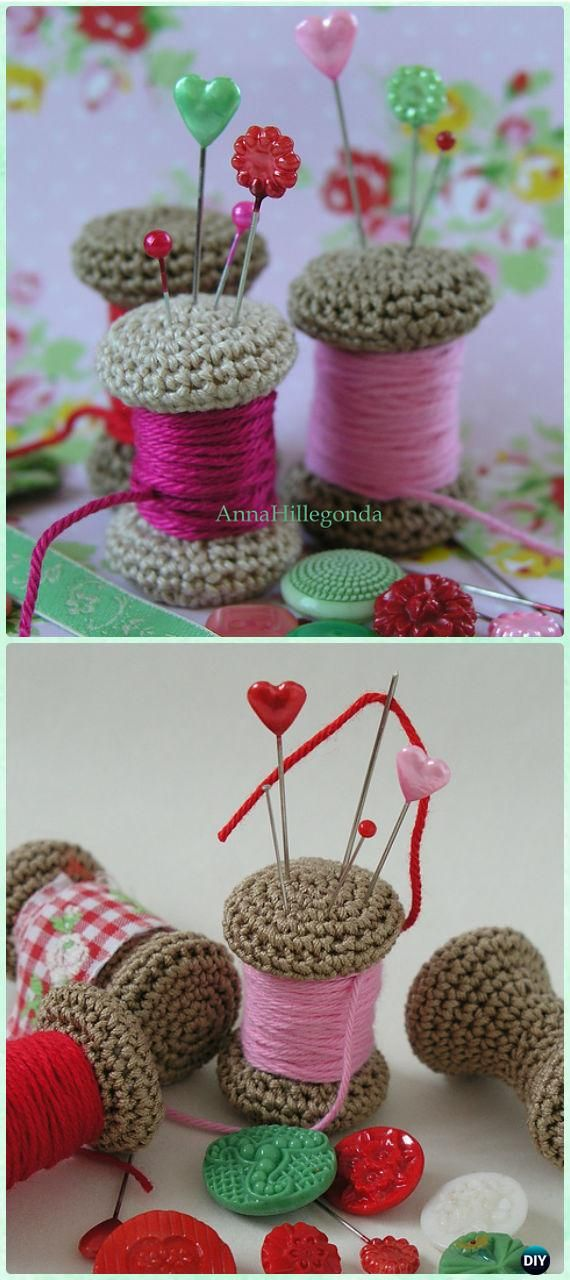DIY Crochet Gift Ideas for Crocheters with Instructions | Miniatura ...
