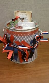 Scraptastic Voyage: Deployment Survival Kit...such a cute idea for later on down the road!