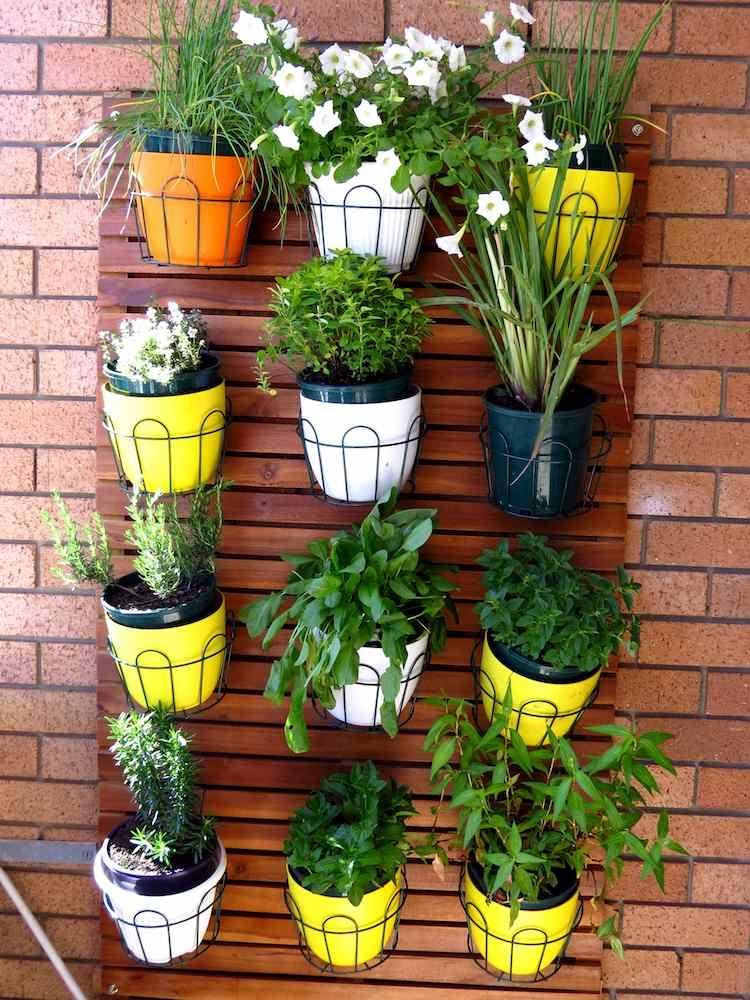 enjoliver l'extérieur - 28 idées de déco balcon avec plantes