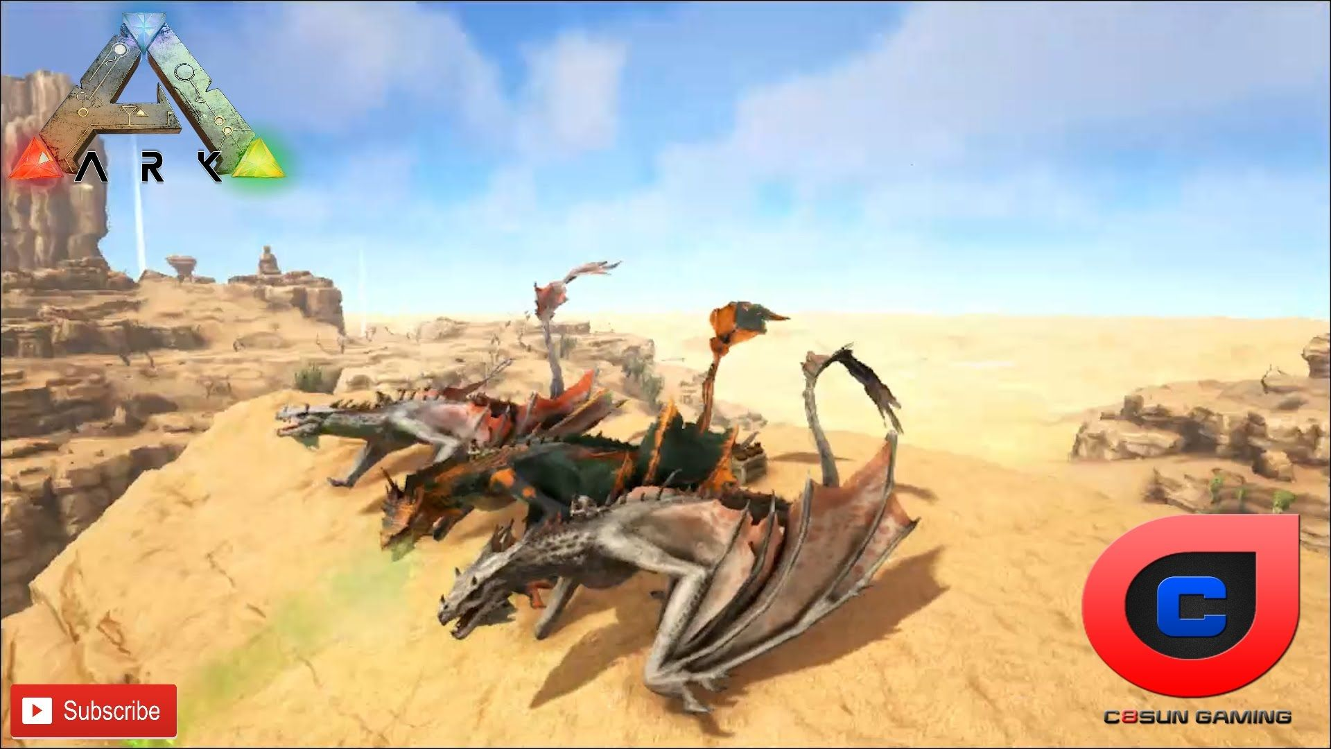 Ark Scorched Earth DLC - Egg Hunt | Ark | Ark, Egg hunt, Earth