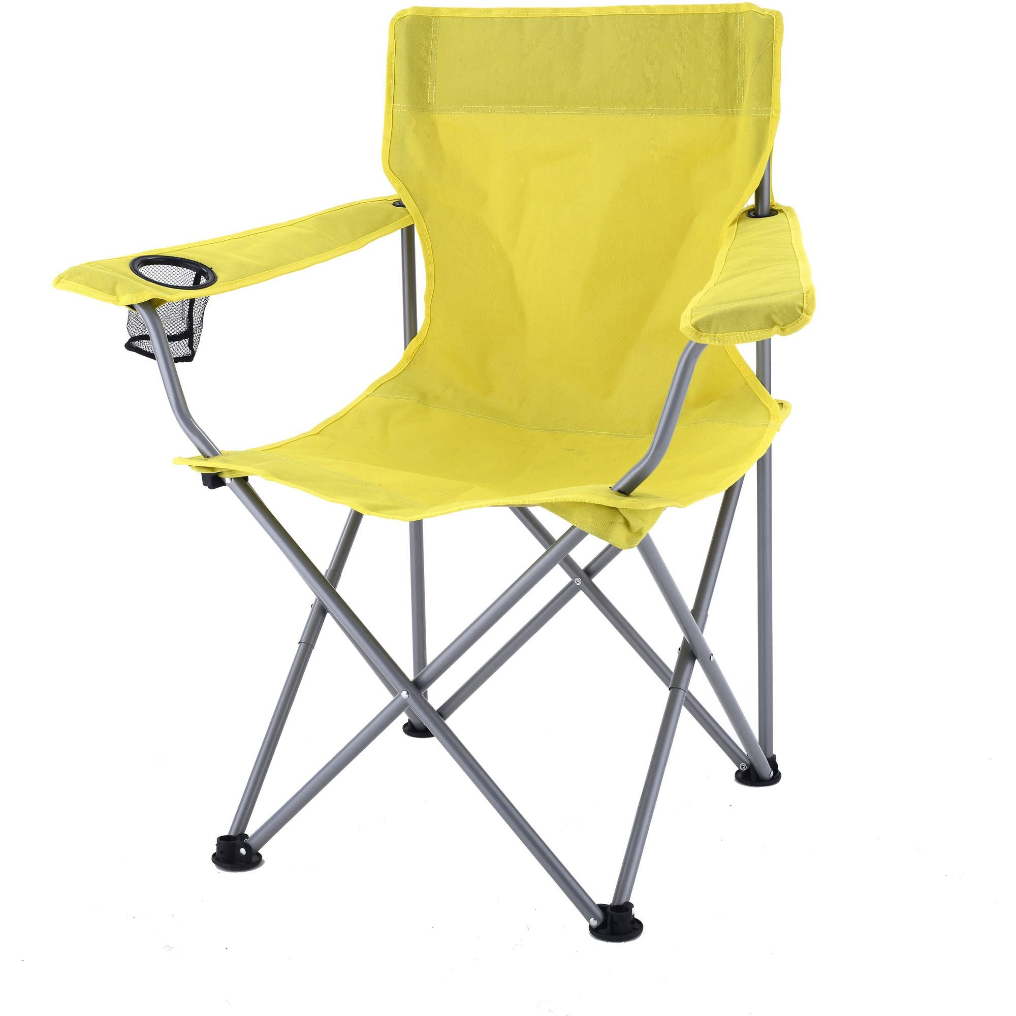 Yellow Folding Camp Chairs