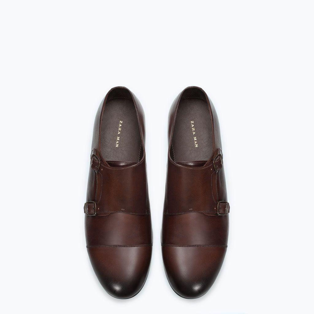 strap 'em on, leather monk strap shoes