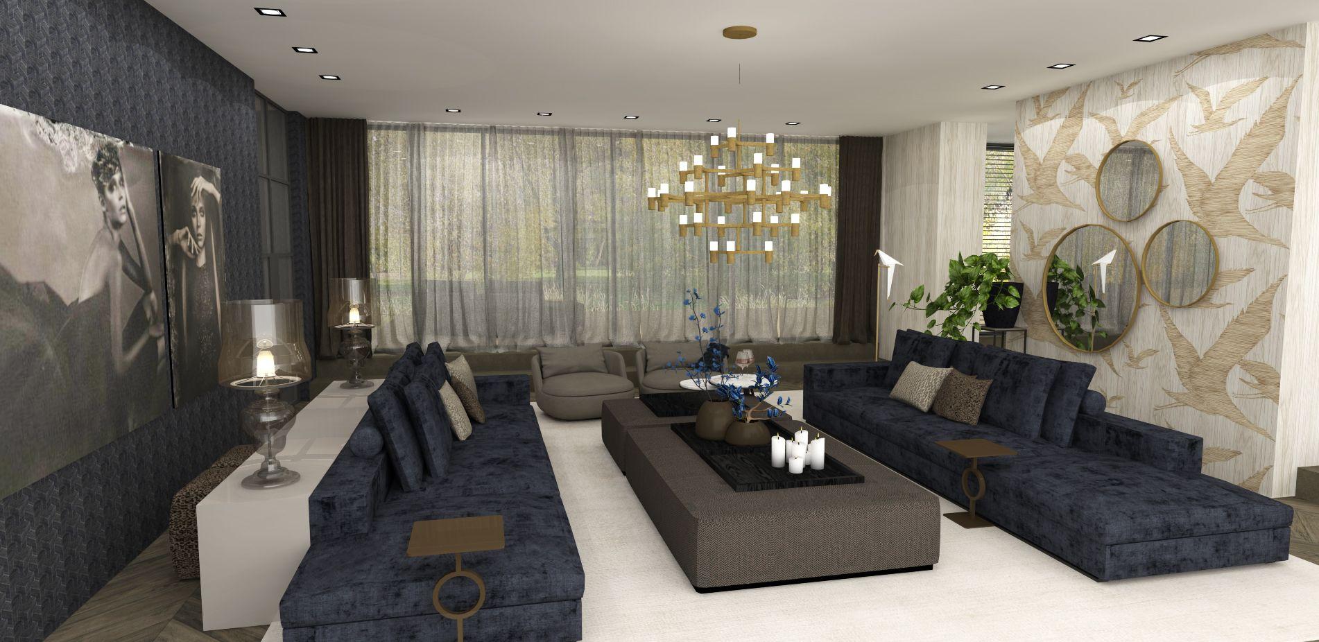 choc studio - modern chic interiors - woonkamer - zithoek ...