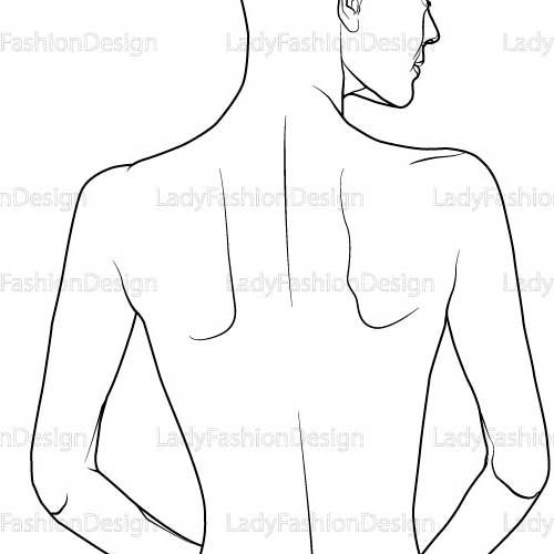 female body outline template - Google Search Face painting