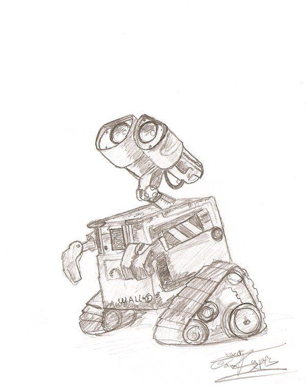 Wall-E | Disney Magic | Pinterest | Walls, Sketches and Drawings
