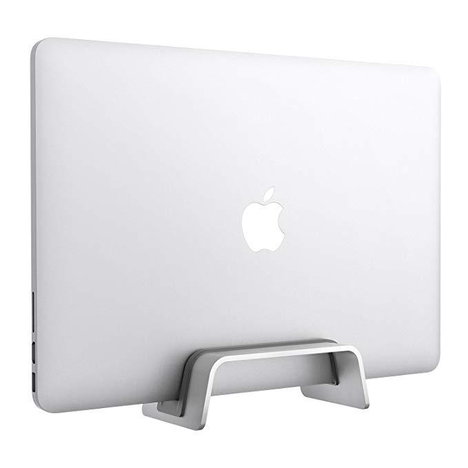 Amazon Com Vertical Laptop Stand For Macbook Pro Air Desktop Space Saving Laptop Holder For New Macbook Pro With Usb C Laptop Stand Old Macbook Pro Macbook