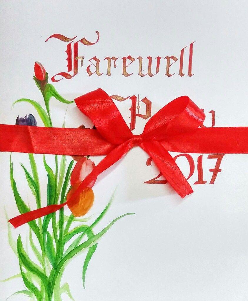 Farewell invitation card | Greeting cards | Pinterest | Farewell ...
