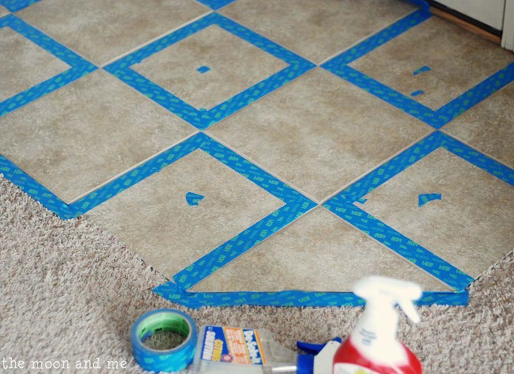 Painting A Ceramic Tile Floor Dorothys Pinterest Ceramic Tile