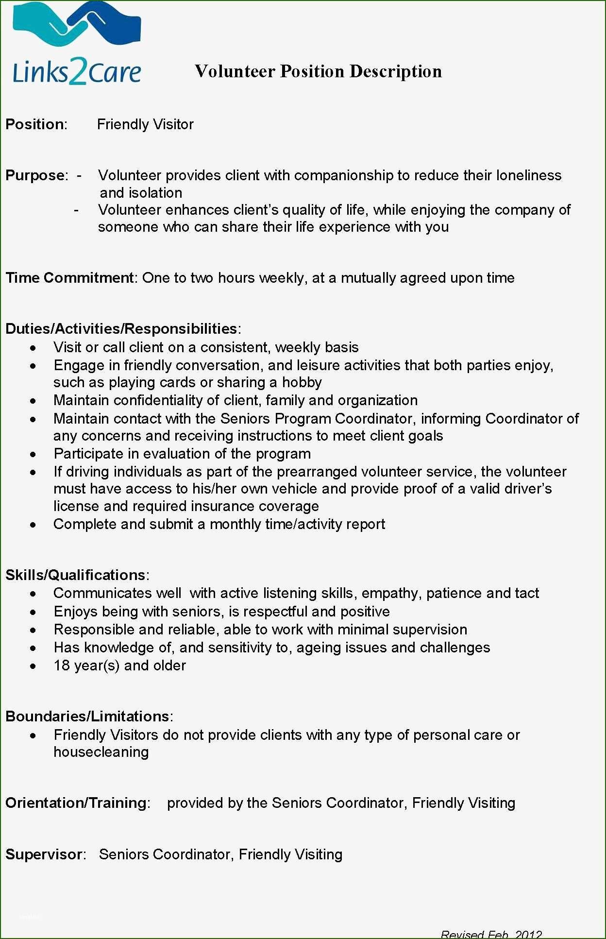 church volunteer work on resume